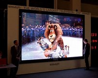 Image result for world's largest tv. Size: 202 x 160. Source: www.nohomers.net