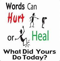 Image result for hateful words harm