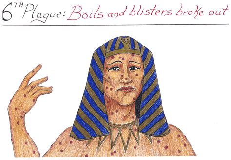 Image result for plagus of boils in the bible