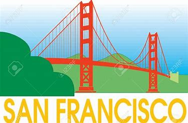 Image result for sanfrancisco clipart