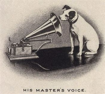 Image result for his masters voice images