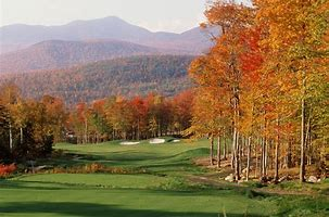 Image result for images beautiful golf courses in the fall