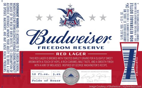Image result for budweiser freedom reserve