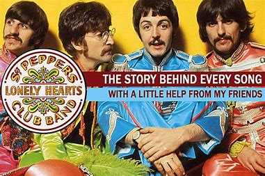 Image result for beatles with a little help from my friends images