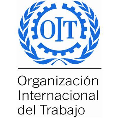 Resultado de imagen de logo de  Organización Internacional del Trabajo (OIT),