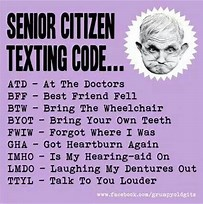 Image result for Funny Sayings For Senior citizens. Size: 203 x 204. Source: quotesgram.com