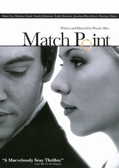 Image result for images movie poster match point