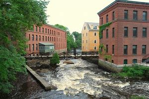 Image result for images mill towns new england