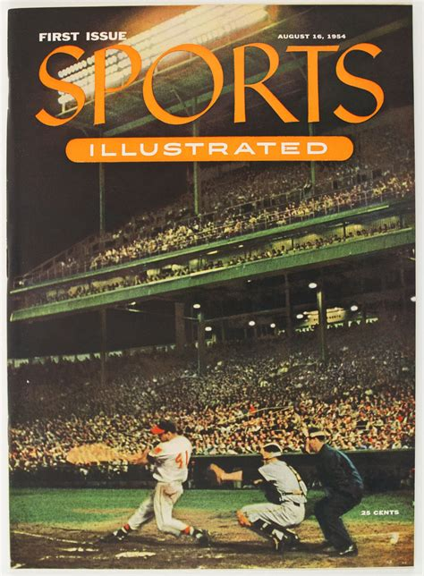 Image result for 1954 - Sports Illustrated was published for the first time.