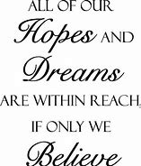 Image result for hopes and dreams quotes