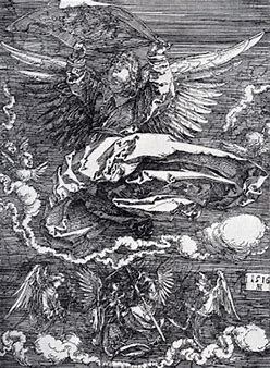 Image result for images durer angel of death