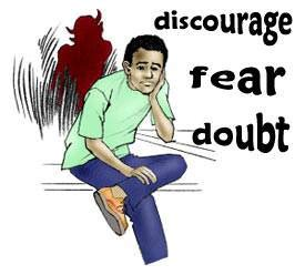 Image result for SATAN CREATES DOUBT IN THE BELIEVER