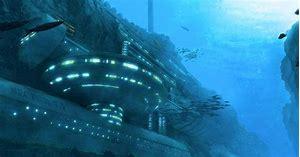 Image result for hidden alien bases underwater