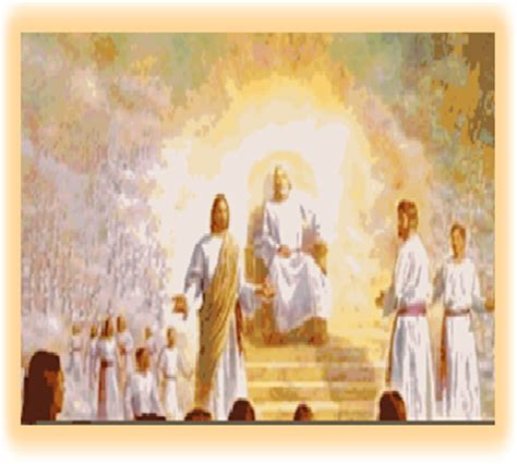 Image result for Jesus seated at the right hand of the father