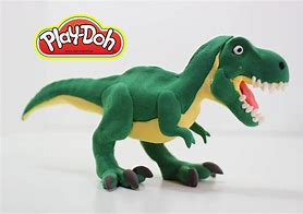 Image result for play dough dinosaur molds