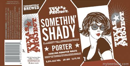 Image result for texas ale projects somethin shady porter