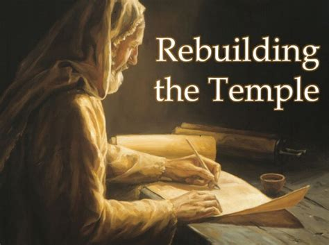Image result for the rebuilding of the temple to come
