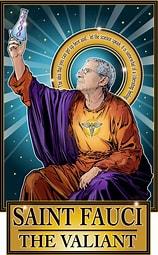 Image result for Images Saint Fauci. Size: 127 x 204. Source: cleaverandblade.com