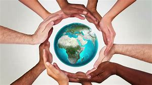 Image result for earth and hands