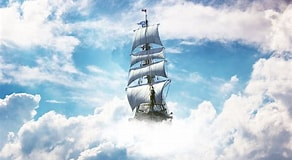 Image result for A Sailing Boat in the Sky. Size: 292 x 160. Source: www.wallpaperflare.com