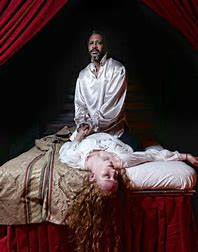 Image result for images othello and desdemona death scene