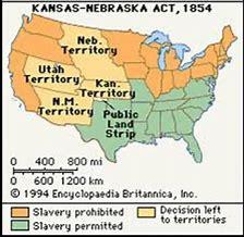 Image result for Kansas-Nebraska Act