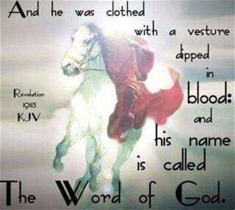 Image result for Revelation Jesus is the Word of God robe dipped in blood