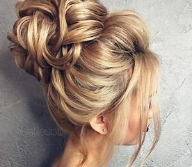 Image result for hair up styles. Size: 184 x 160. Source: fashionarrow.com
