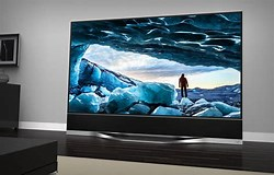 Image result for 120 inch flat screen TV. Size: 250 x 160. Source: thesource.com
