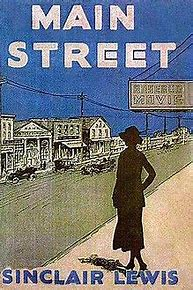 Image result for images book cover lewis main street