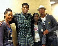Image result for Paul George's mother Paulette Ann George
