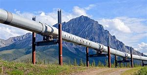 Image result for trans-Alaska oil pipeline was finished