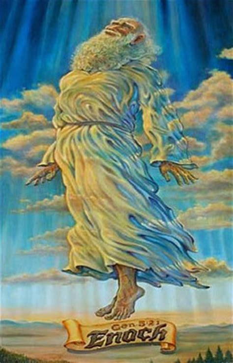 Image result for Enoch is taken by the angels into the first heaven