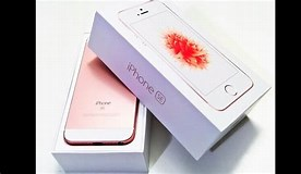 Image result for iPhone SE Rose Gold 64. Size: 276 x 160. Source: www.youtube.com