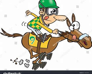 Image result for Cartoon Race Horse Clip Art