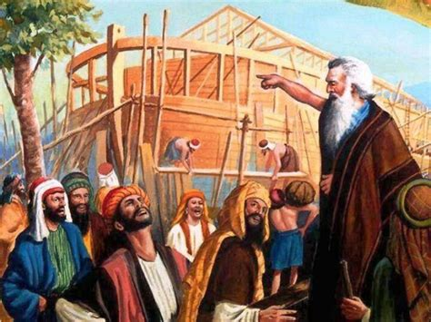 Image result for noah was subject to ridicule before the flood