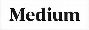 Image result for Medium logo PNG