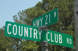 Image result for country club sign