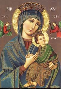 Image result for our lady of perpetual succour explained