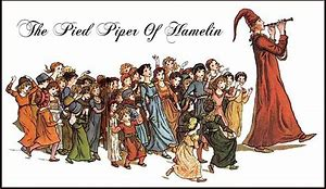 Image result for Pied Piper of Hamelin