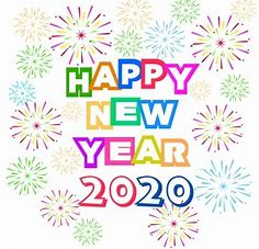Image result for happy new year 2020 clip art