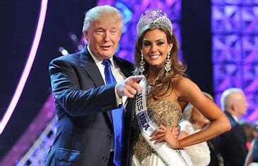 Image result for trump with miss connecticut images