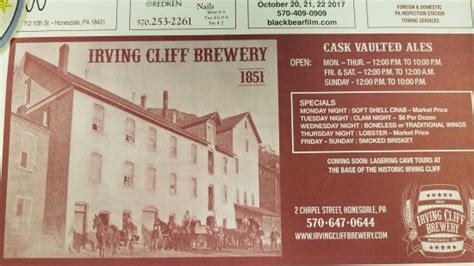 Image result for irving cliff brewing interior