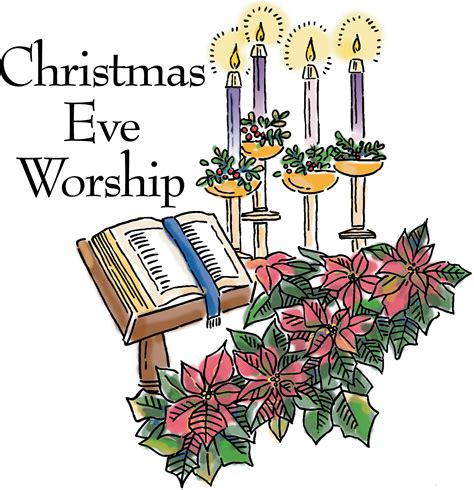 Image result for Christmas eve service clip art