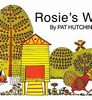 Image result for Rosie's Walk. Size: 148 x 160. Source: www.simonandschuster.com
