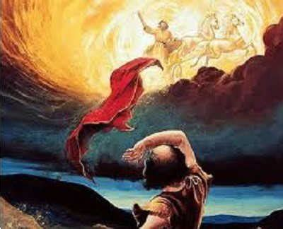 Image result for Elijah taken to Heaven in a whirlwind