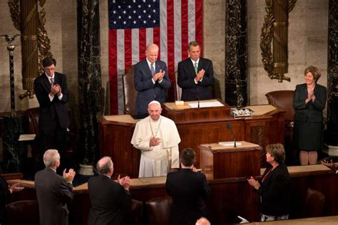 Image result for the pope addressing congress