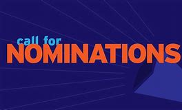 Image result for call for nominations