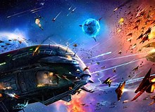 Image result for Spaceship Battles. Size: 220 x 160. Source: art.alphacoders.com