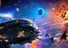 Image result for Spaceship Battles. Size: 224 x 160. Source: art.alphacoders.com